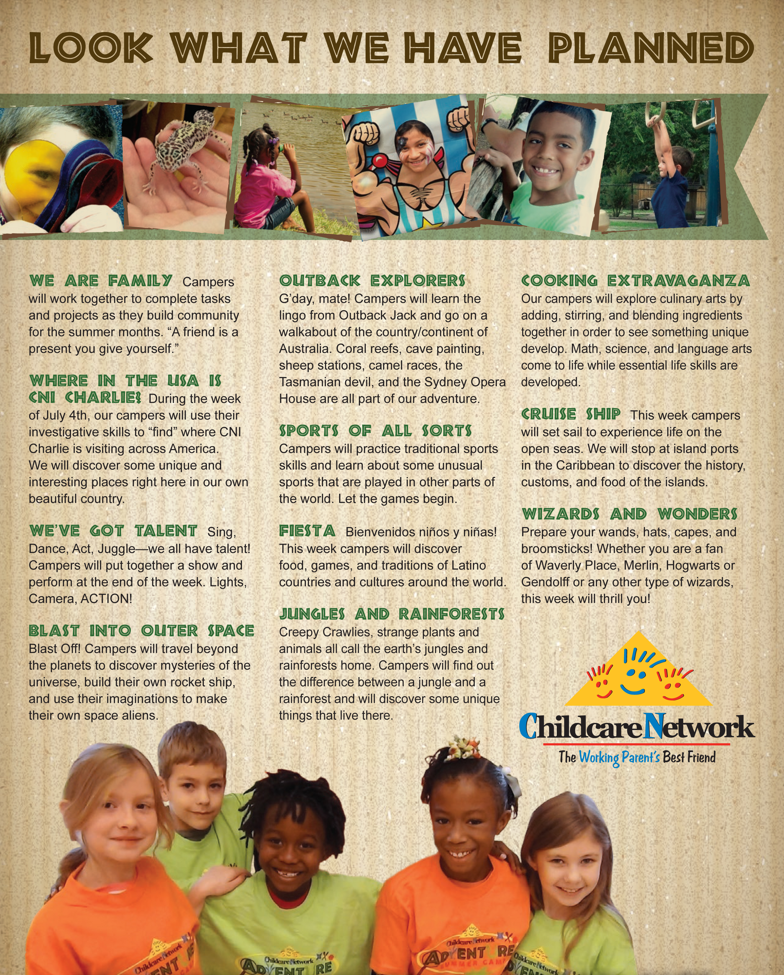 Kids Summer day camp 2014 near me